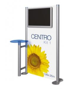 Centro Audio Visual Display Stand Kit 1