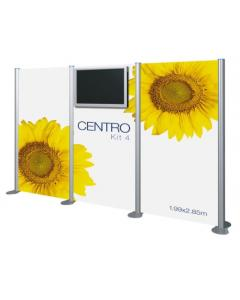 Centro Audio Visual Display Stand Kit 4