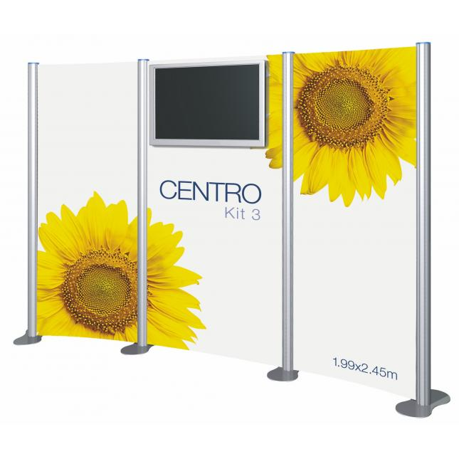 Kit 3 Centro AV Display Stand