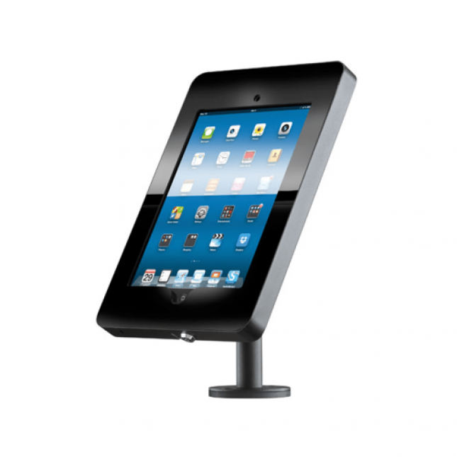 Black iPad enclosure