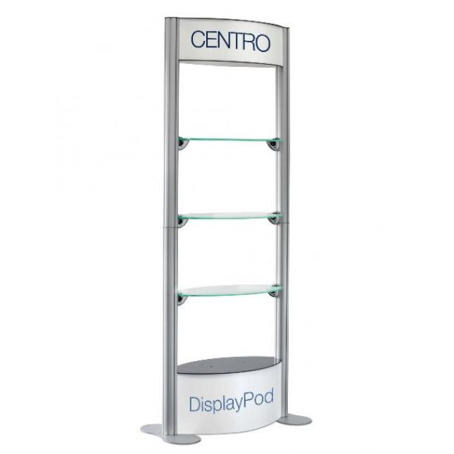 Centro Pod with no infill panels fully open