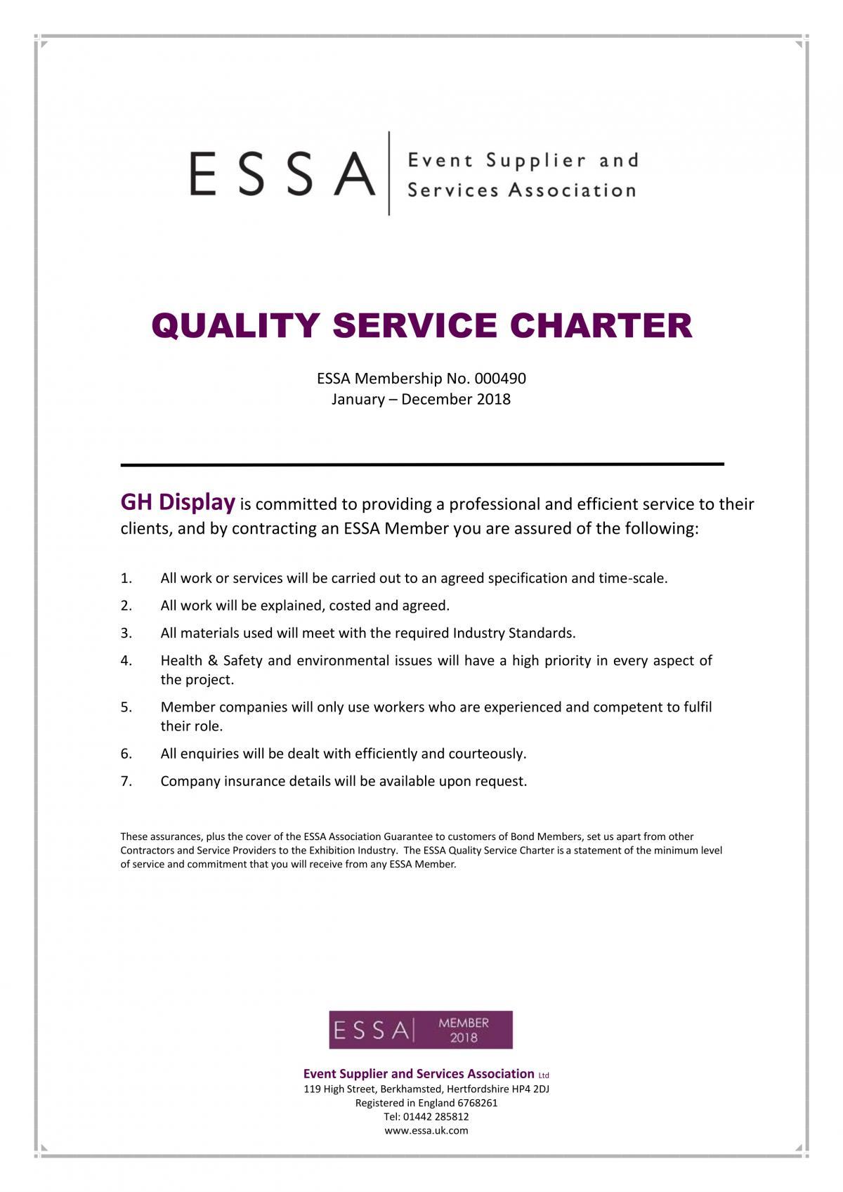 Quality Charter ESSA Member 2018