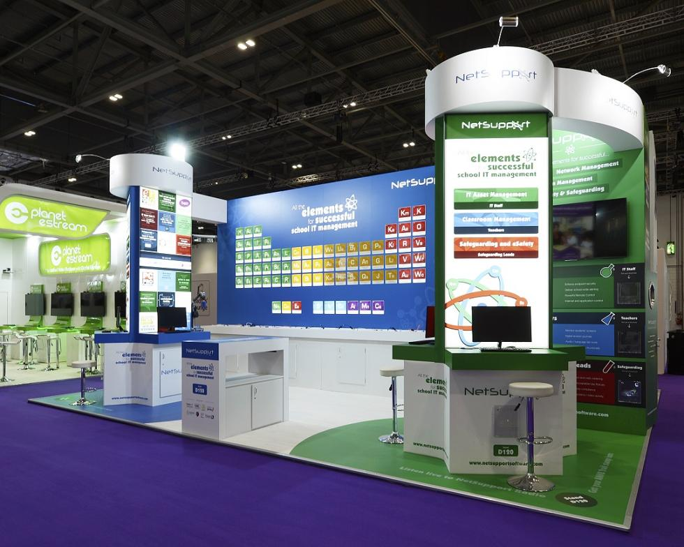 NetSupport Ltd Exhibition Stand at BETT 2018