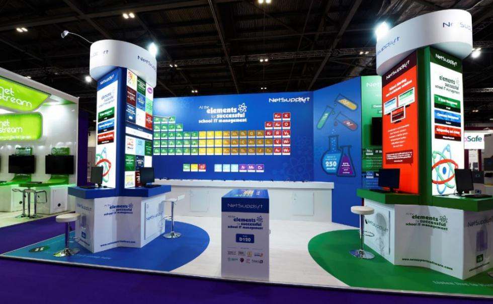 Exhibition Stands for BETT Show 2018