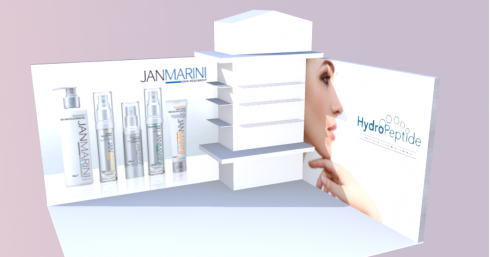 professional beauty exhibition stand