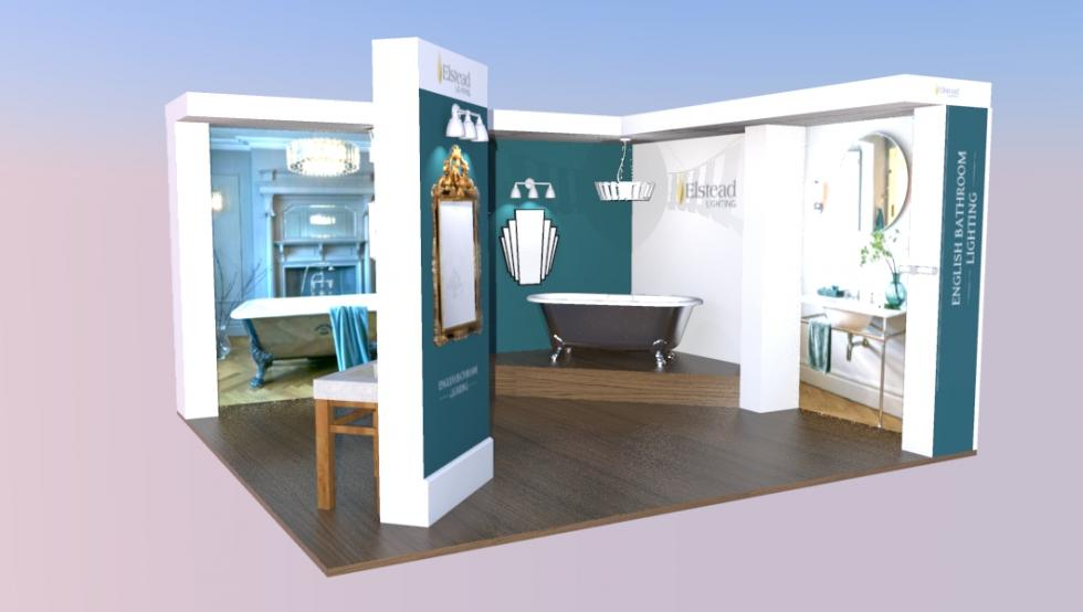 custom exhibition stand for Grand Designs