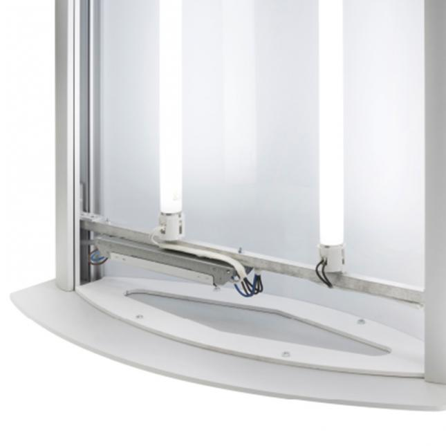Light Box Pillar Tubes
