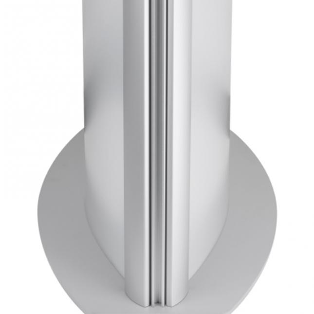 Double sided light box pillar