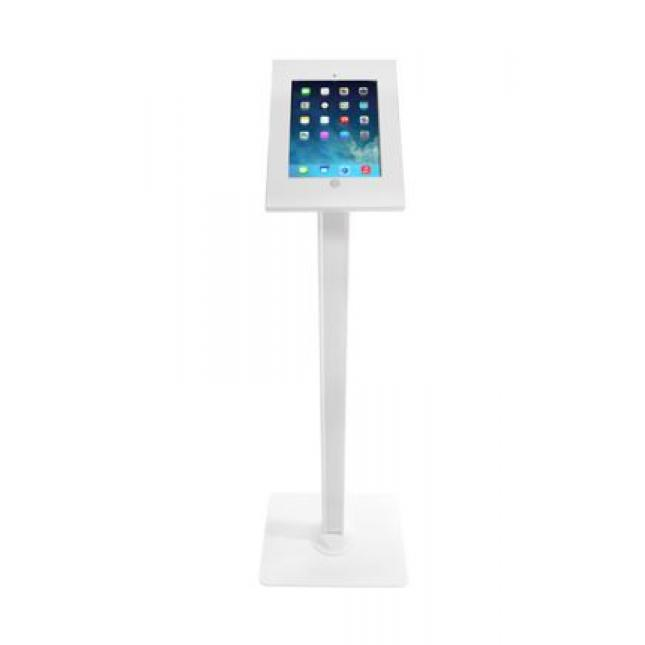 White iPad Floor Stand | iPad Stands