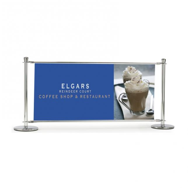 2000mm premium slide cafe barrier