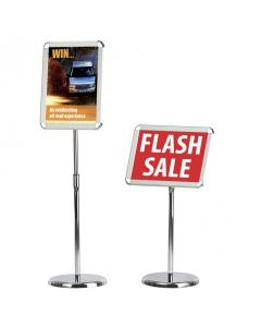 Telescopic Sign Holder