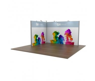 GHD Modular Display Stands