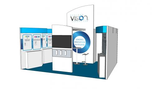 Hygiene Vision exhibition stand design