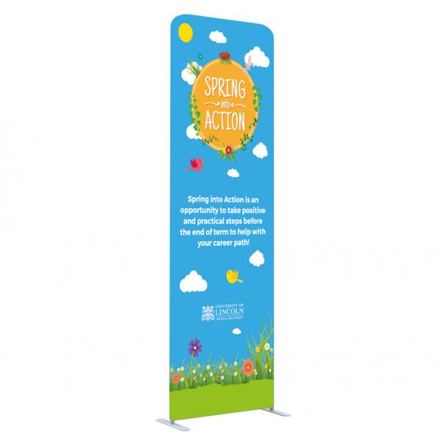 1000mm x 3246mm stretch fabric stand