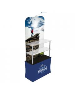 Stretch Fabric Point of Sale Display A