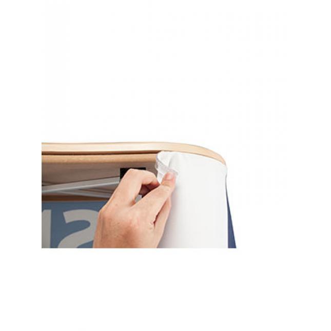 SEG Fabric Counter Silicon Edge in channel