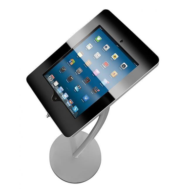 Curve iPad Display Stand Top Down