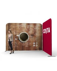 3m x 2m Fabric Display Stand