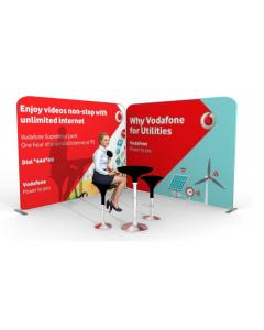 3m x 3m Fabric Display Stand