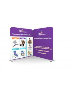 2m x 2m Fabric Display Stand