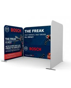 One Open Side 3m x 2m Fabric Display Stand