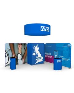 4m x 5m Fabric Display Stand
