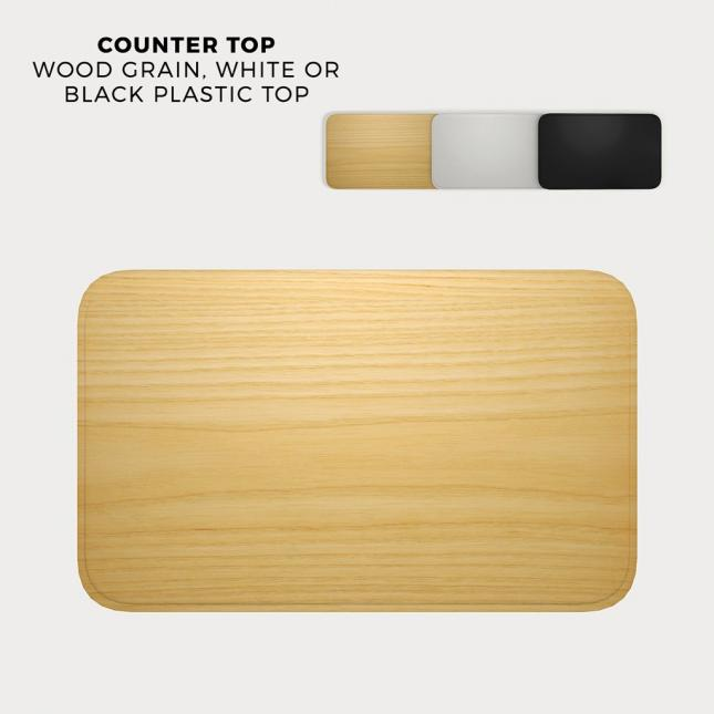 Counter top options