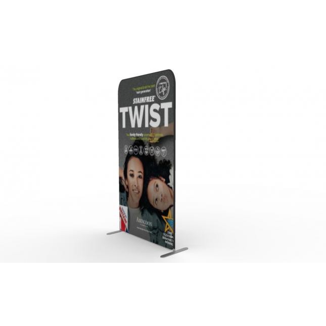 1.2m wide fabric display stand