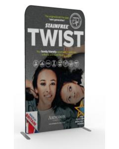 1.2m Straight Fabric Display Stand