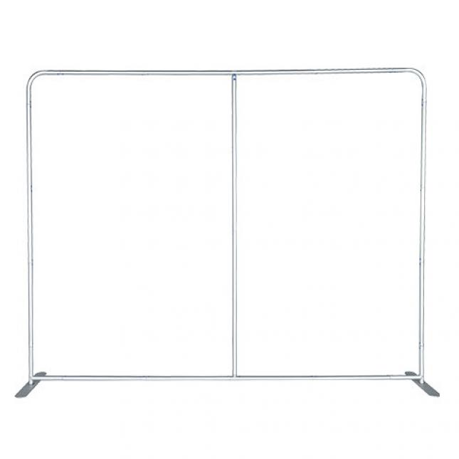 3m straight fabric exhibition stand frame only