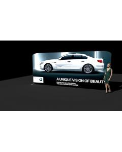 5.6m Light Wall Backlit Portable Display