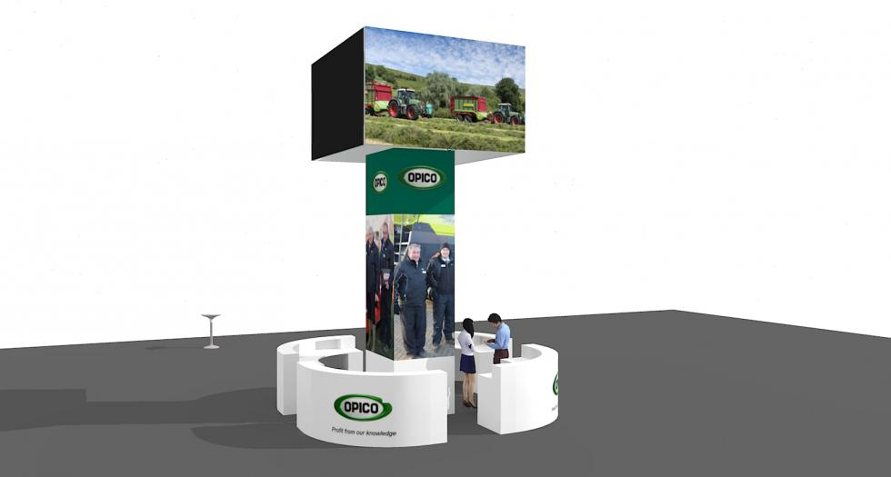 Opico Custom Displays at LAMMA 2019