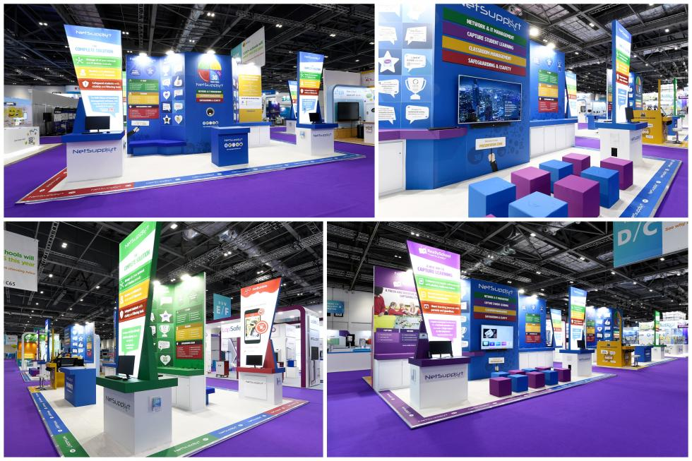 Exhibition stand for BETT 2019
