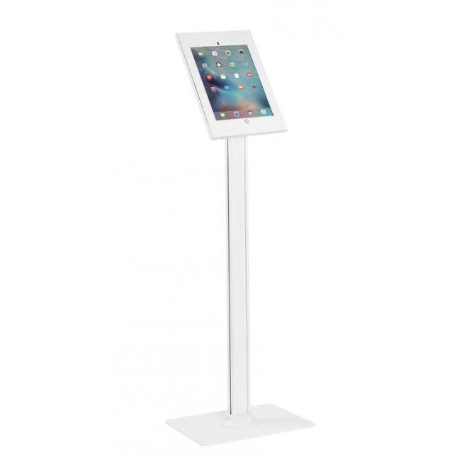 iPad Pro Floor Stand White
