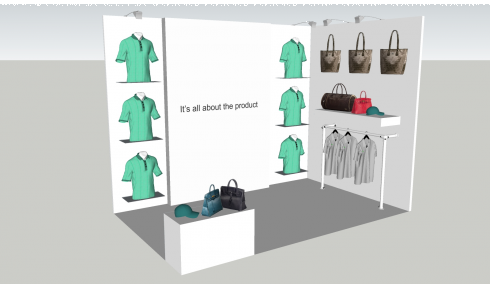 exhibition stand design lightbox