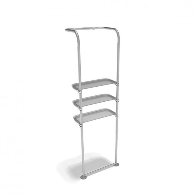 Point of sale display shelves