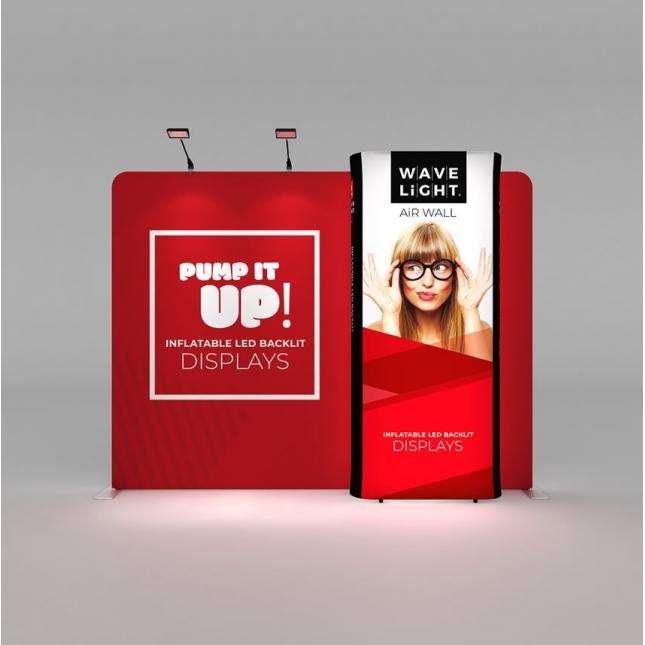 3m Wavelight Display Exhibition Stand