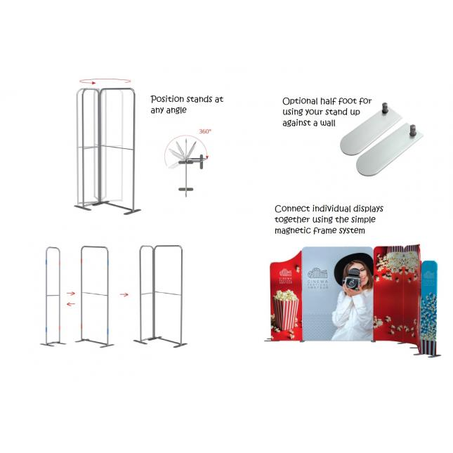 Modulate modular exhibition stand