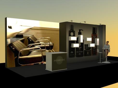 8x3 bespoke exhibition stand