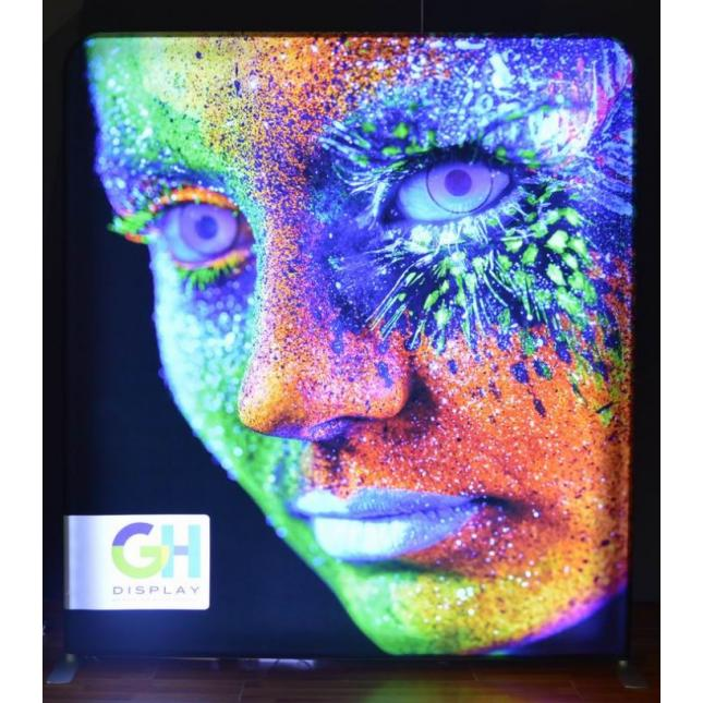 2.3m Lightwall LED Portable Display Stand GH Display