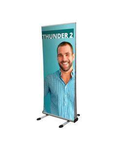 Thunder Outdoor Double Sided Roller Banner