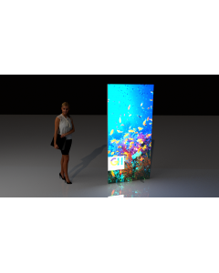 Medium Portable Lightbox Display Wall