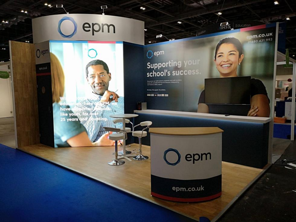 EPM custom exhibition stand