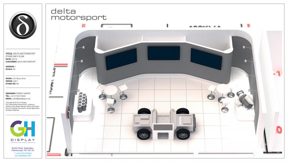 Delta Motorsport Exhibition Stand Design