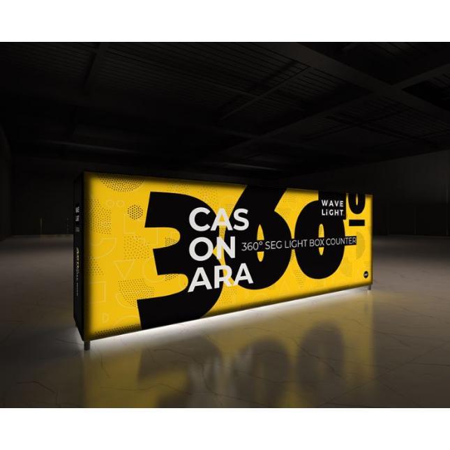 3m Lightbox display counter