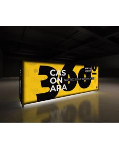 3m SEG Lightbox Display Counter