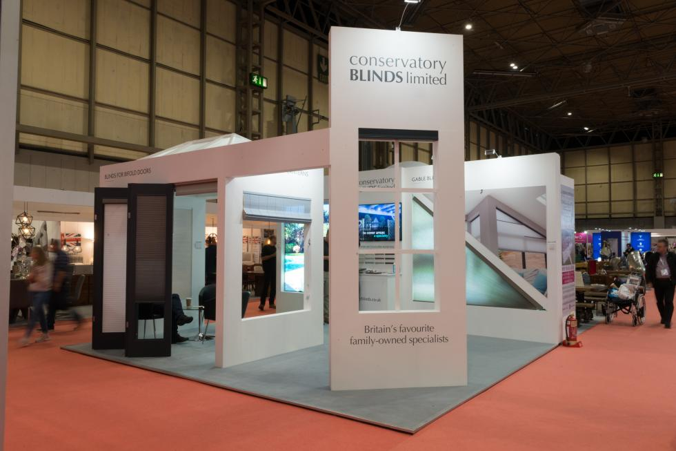 Conservatory Blinds Exhibition Stand Grand Designs 2019
