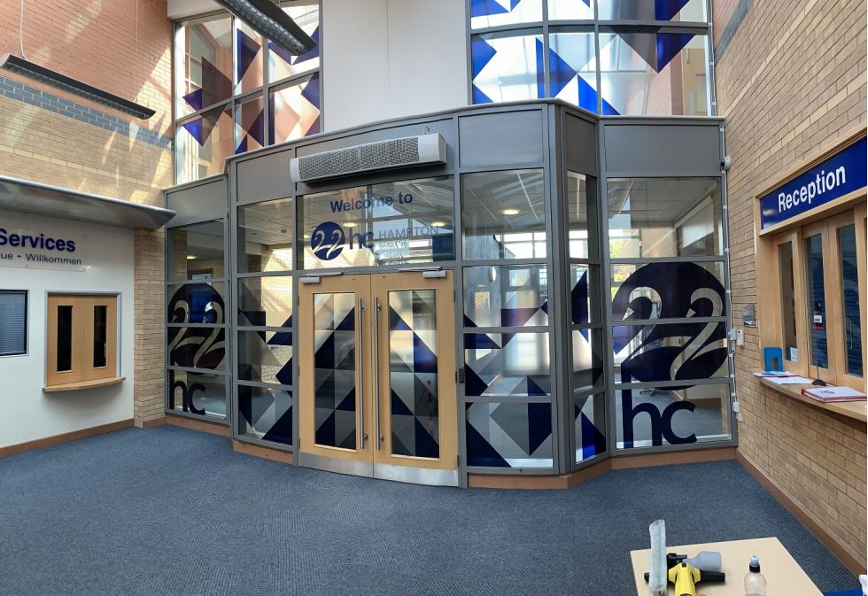 Hampton College Interior Graphics