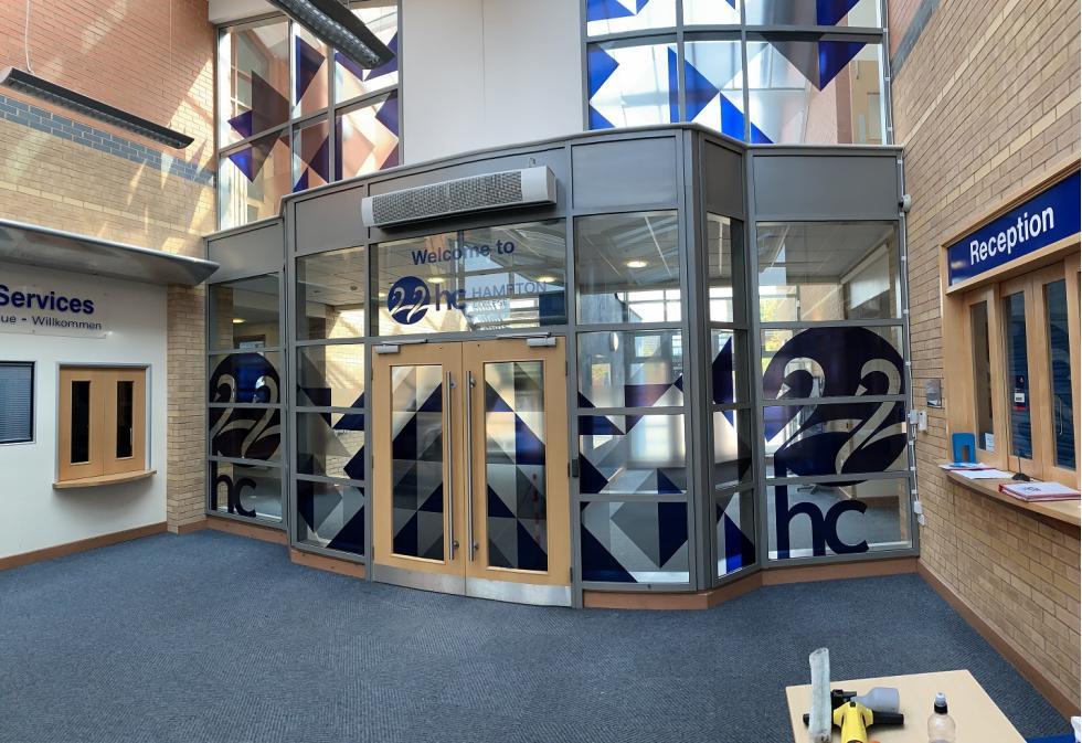 Hampton College Interior Graphics