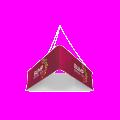 Triangular Hanging Banner Structure